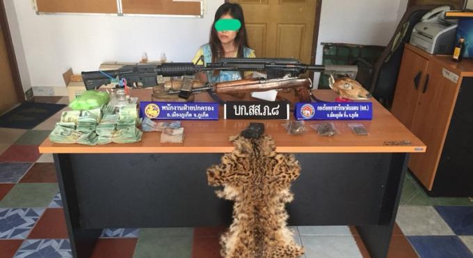 Une arrestation ratée permet la découverte d'armes de drogues et de dépouilles animales