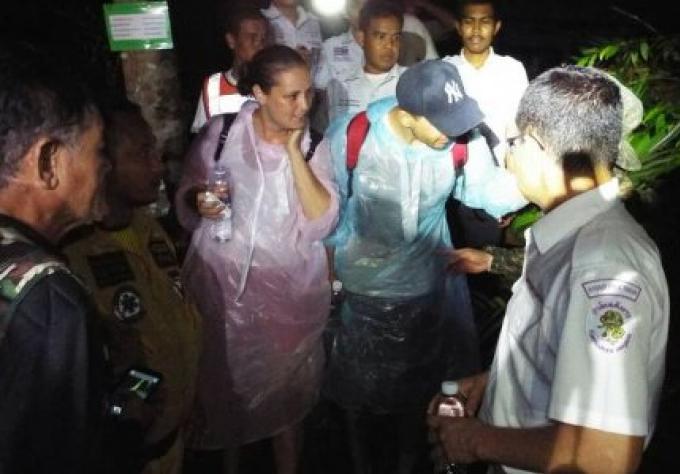 Un couple turc secouru après s'être perdus dans une forêt de Phuket