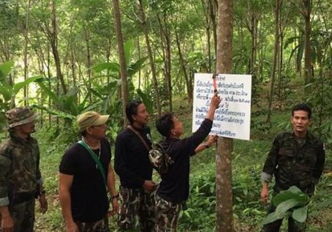 100 rai de terres saisis du parc de Phuket