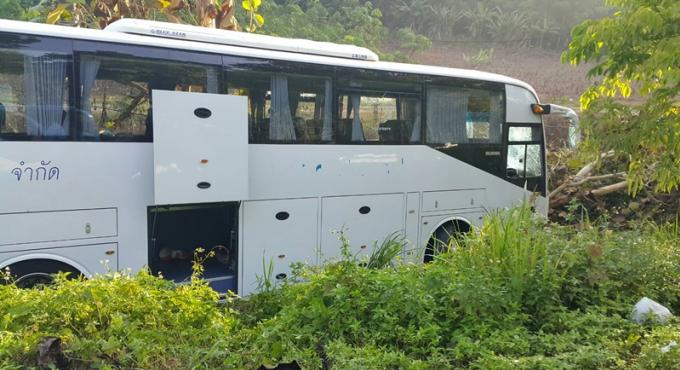 Des touristes russes blessés dans un accident de car à Krabi