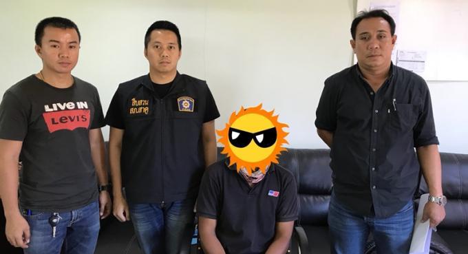 La police de Phuket arrête le 'peintre' de Songkran