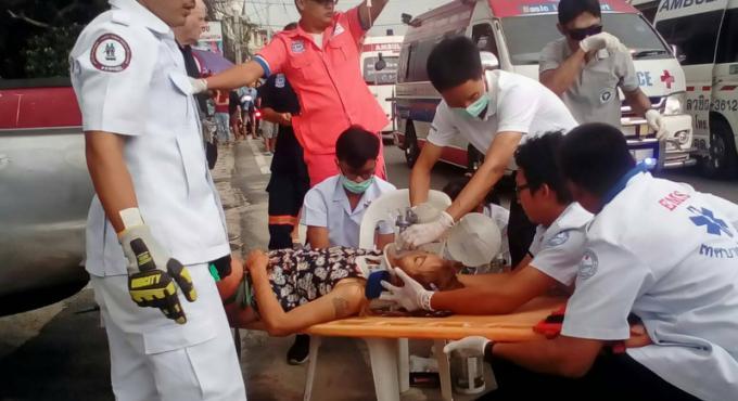Une femme perd une jambe dans un accident de la route