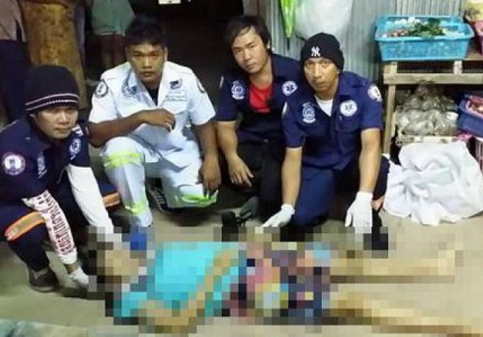 Une femme de Myanmar électrocutée pendant le nettoyage
