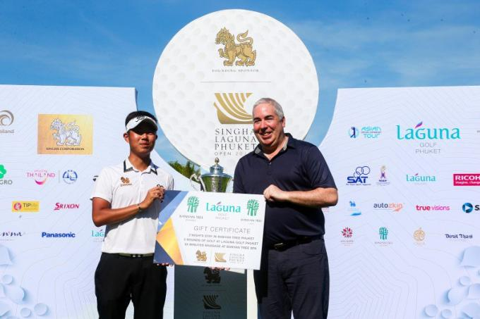 Varanyu remporte le Singha Laguna Phuket Open
