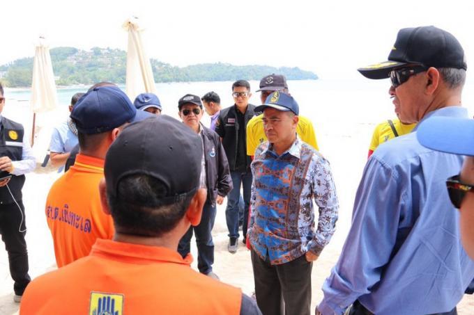La responsable du tourisme à Phuket demande le soutien des sauveteurs avant un avertissement intern