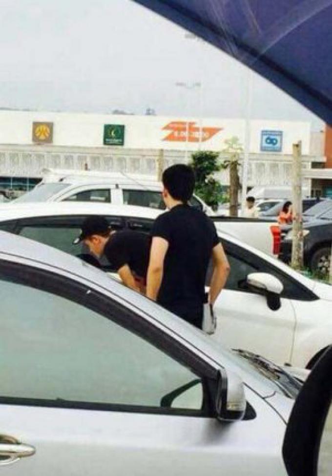 Des étrangers soupçonnés de Vol sur le parking du Tesco