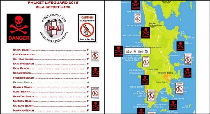 ISLA publie un avertissement aux voyageurs à destination de Phuket