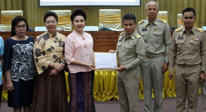 Le chenil gouvernemental de Phuket reçoit un don de B208,000