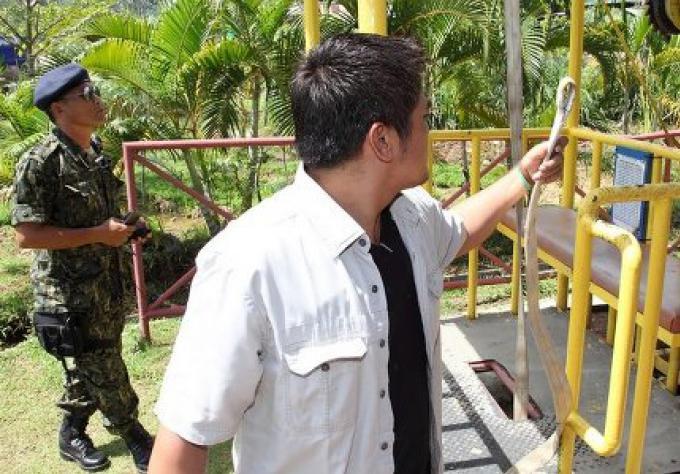 Le World Bungy Jump à Patong  démoli pour de bon
