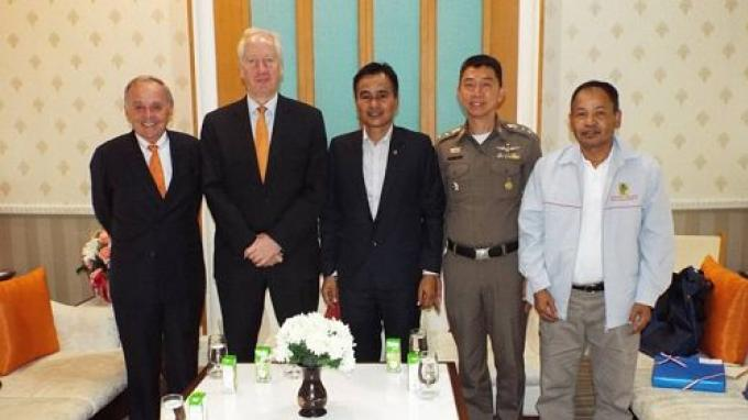 L'ambassadeur des Pays-Bas parle de sécurité à Phuket