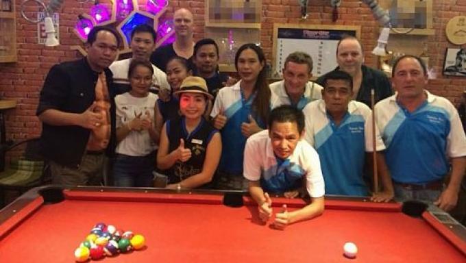 Caddy Shack prend la tête de ce début de Patong Pool League