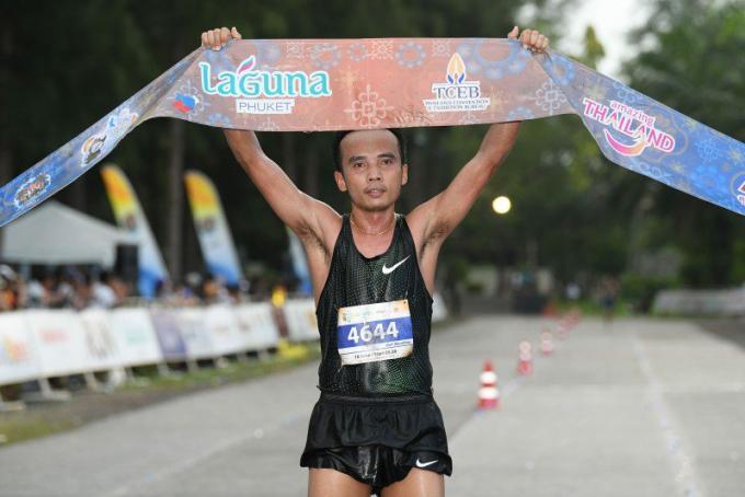 Thaïs et japonais brillent lors du Laguna Phuket Marathon 2018