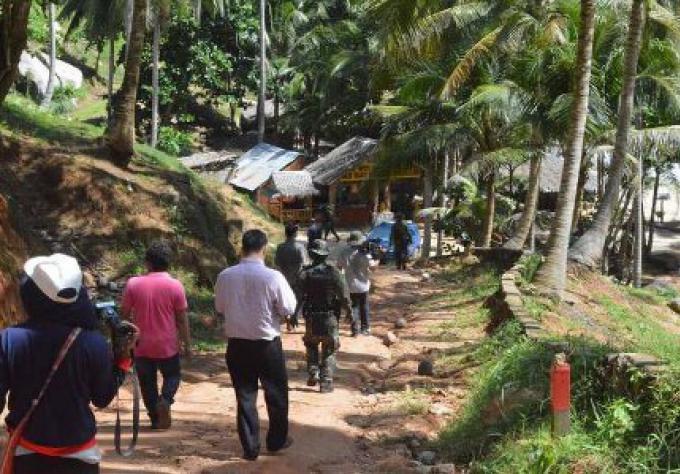 Avis d'expulsion posté dans plusieurs établissements de Nui Plage