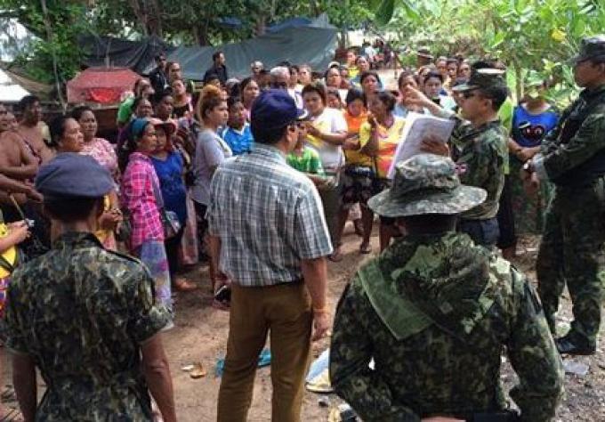 Litige foncier pour les gitans de la mer de Phuket éclate à nouveau