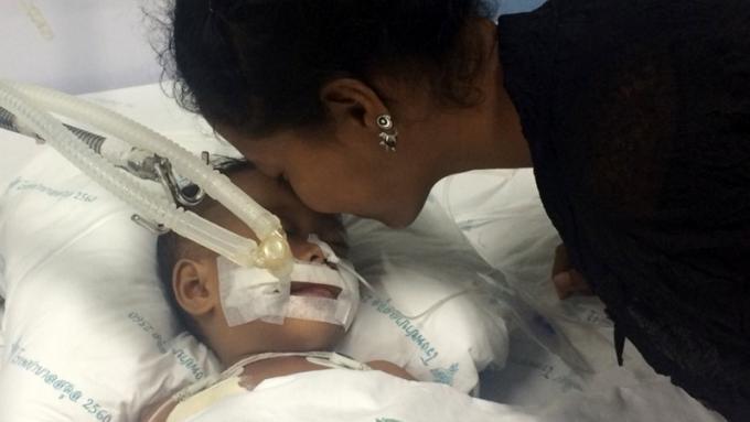 Un bébé de 1 an évacué en plein orage par la marine