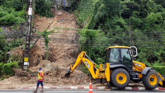 Une nouvelle carte des zones à risques de glissements de terrain