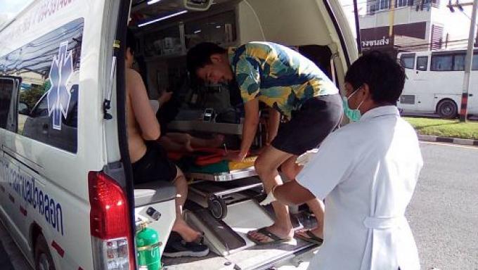 Un jeune chinois de 4 ans secouru d'une piscine d'un hotel de Naka Yai dans un état critique