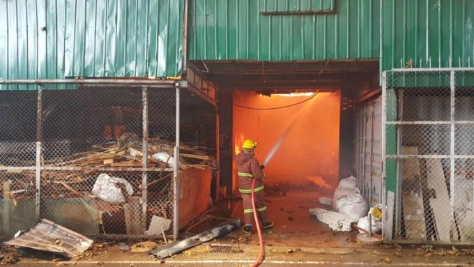 Enquête lancée après l'incendie de l'usine de meuble