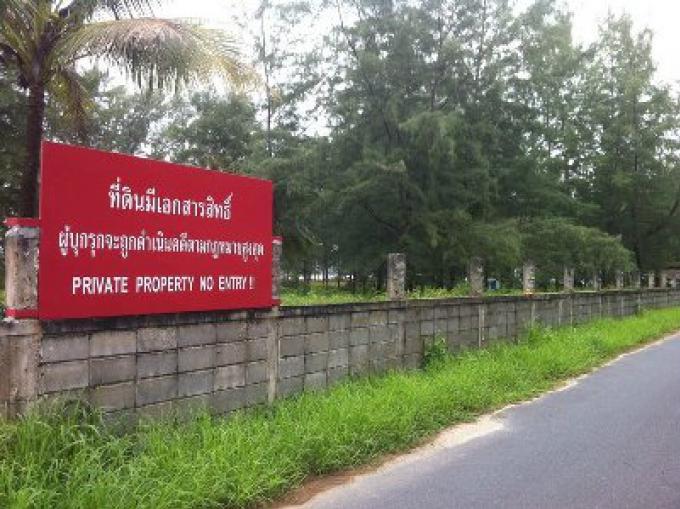 Cinq cas font face à des accusations pour réclamer illégalement des terres du parc national de Ph