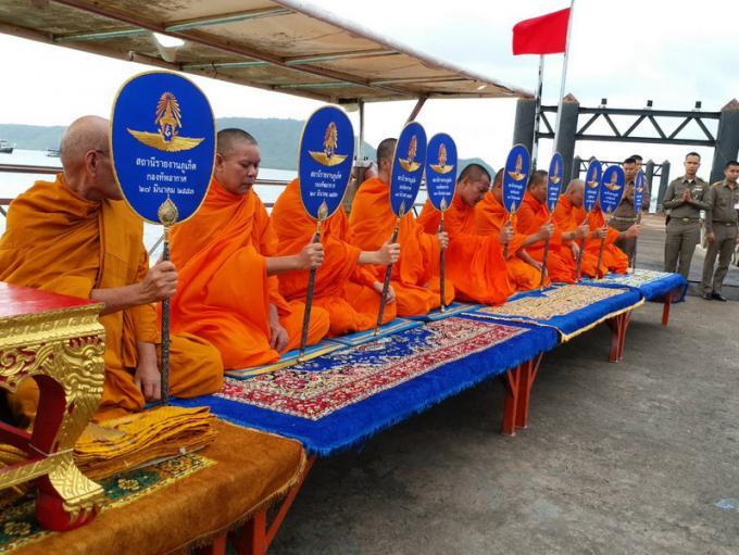 Cérémonie religieuse à Chalong pour les victimes du Phoenix