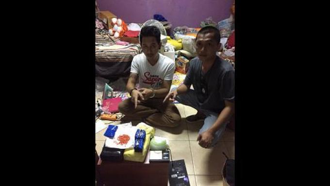 La police aux Frontière arrête trois suspects avec plus de 20,000 cachets de meth