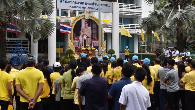 Avant l'anniversaire de SM le Roi, grand nettoyage avec le gouverneur