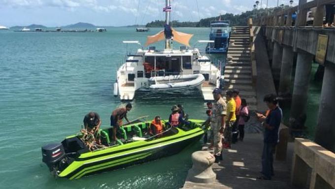Le corps de la personne disparue en jet-ski retrouvé à Koh Yao Yai