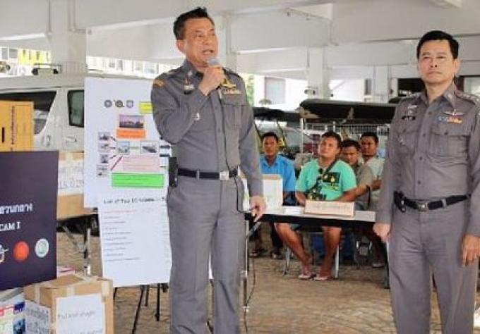 La police de Bangkok arrête 21 personnes de plus, pour escroquerie de bijoux