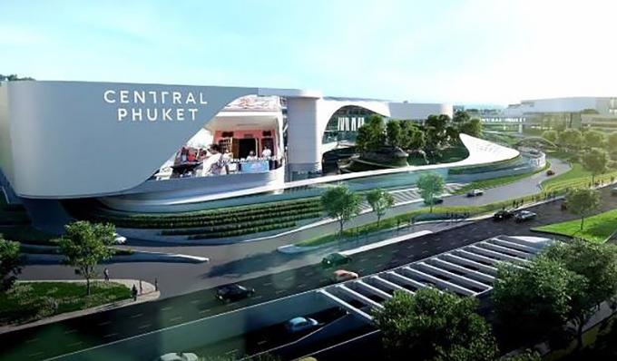 Central Phuket ouvrira le 10 Septembre