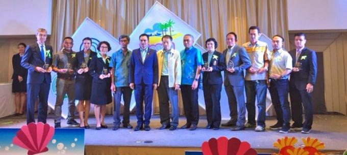 13 plages de Phuket récompensées par le Bureau de l'Environnement