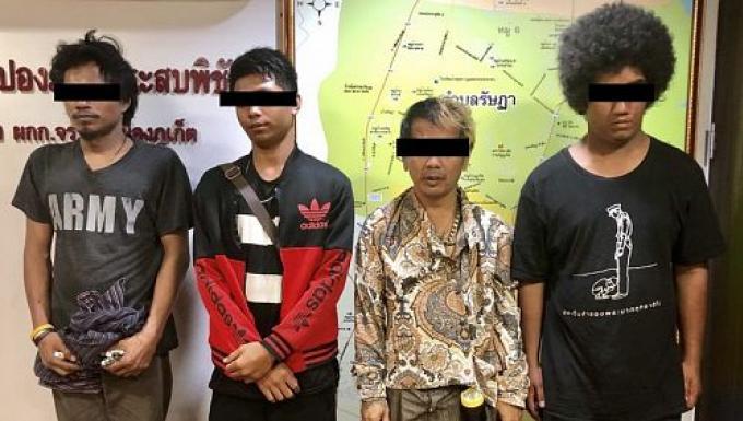 L'équipe 'officieuse' du parking de Phuket Town stoppée par la police