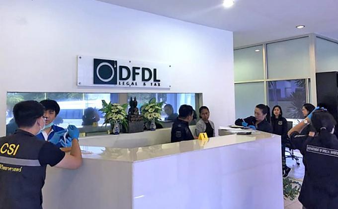 Le DSI contre les étrangers utilisant des prête-noms thaïs : des cabinets juridiques de Bangkok,