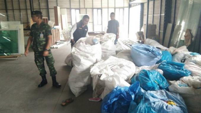 Saisie de contrefaçons à Patong