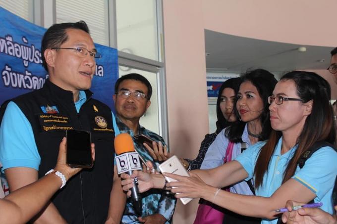 Le ministre du tourisme assure le suivi de la catastrophe du Phoenix
