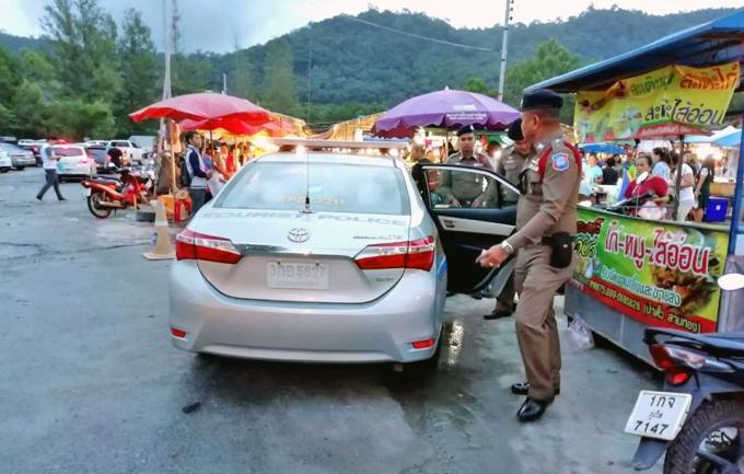 Des touristes mendiants arrêté pour trouble de l'ordre public