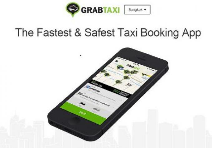 Grab Taxi bientot à Phuket