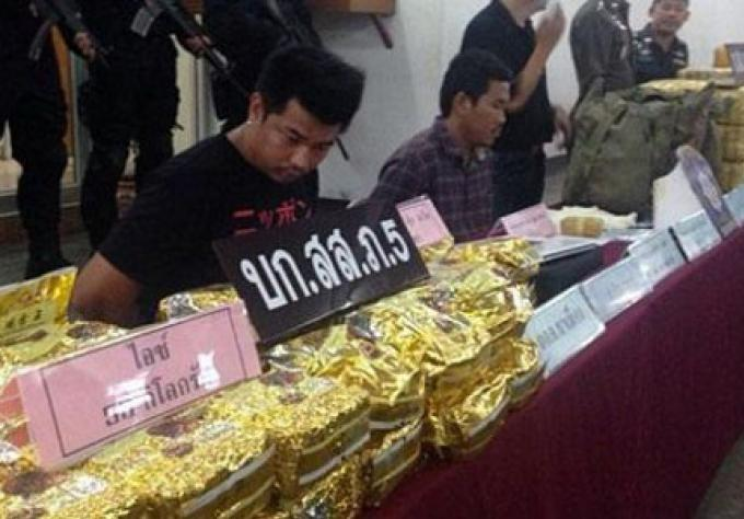 2 hommes arrêtés avec 2 millions de pilules de