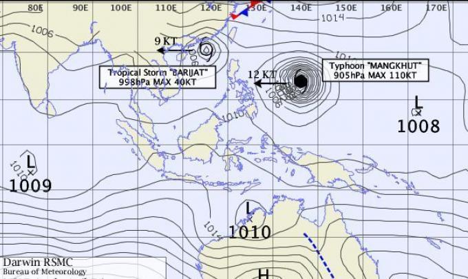 Deux systèmes dépressionnaires préparent une grosse tempête