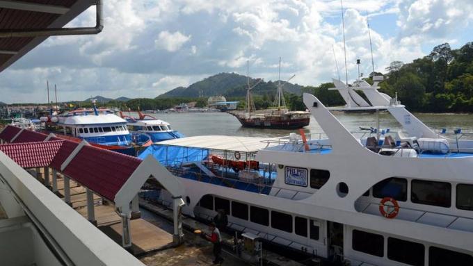 Exercice de sécurité en mer