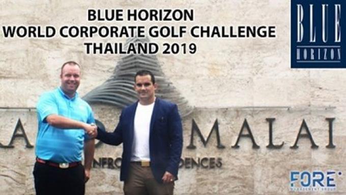 Blue Horizon Developments sponsor du World Corporate Golf Challenge Thailand 2019