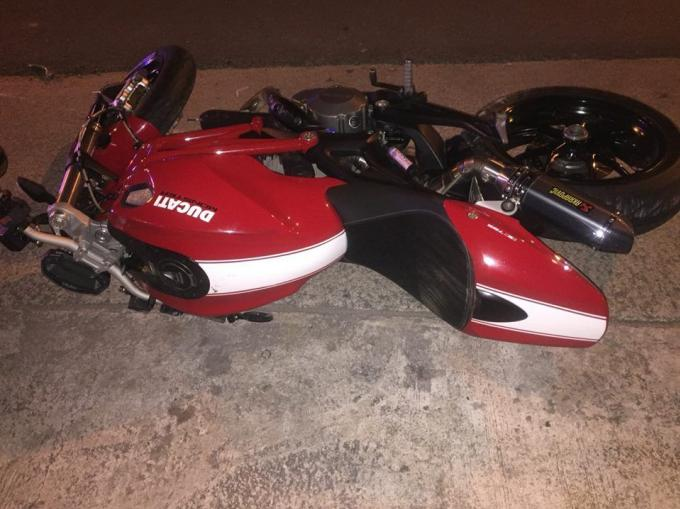 Accident de moto mortel