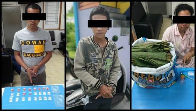 Trois dealers arrêtés dans une même rue de Phuket Town (encore)