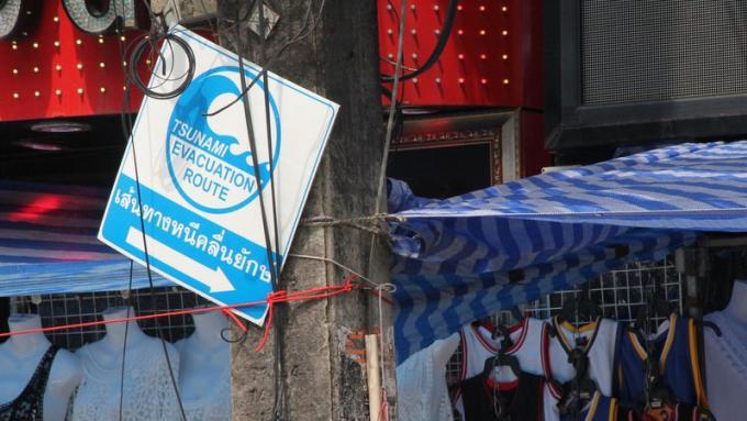 Révision complète des routes d'évacuation tsunami de Phuket