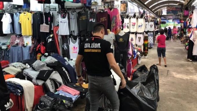 Plus de 4,000 contrefaçons saisies à Patong