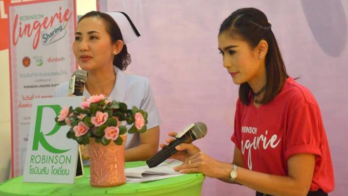 Robinson Phuket lance son projet 'Lingerie Sharing'