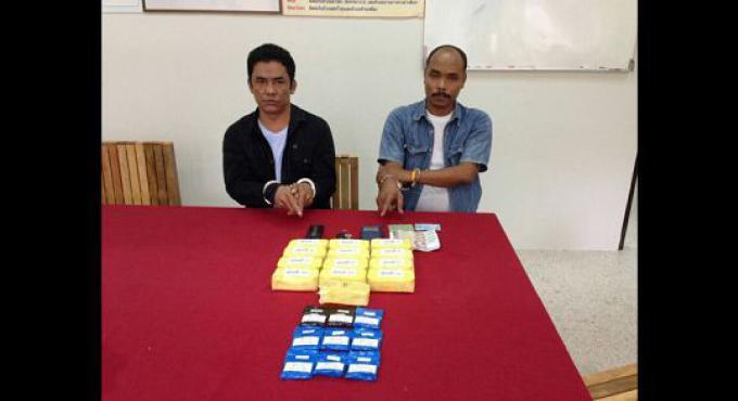 Deux personnes arrêtées au large de Phuket avec 25.000 pilules de Ya bah