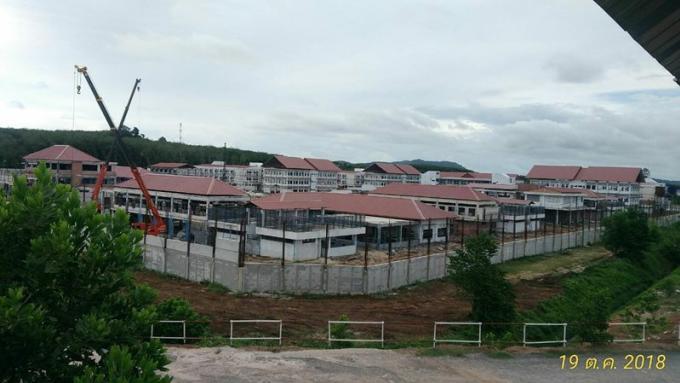 La nouvelle Prison Provinciale de Phuket construite à moitié