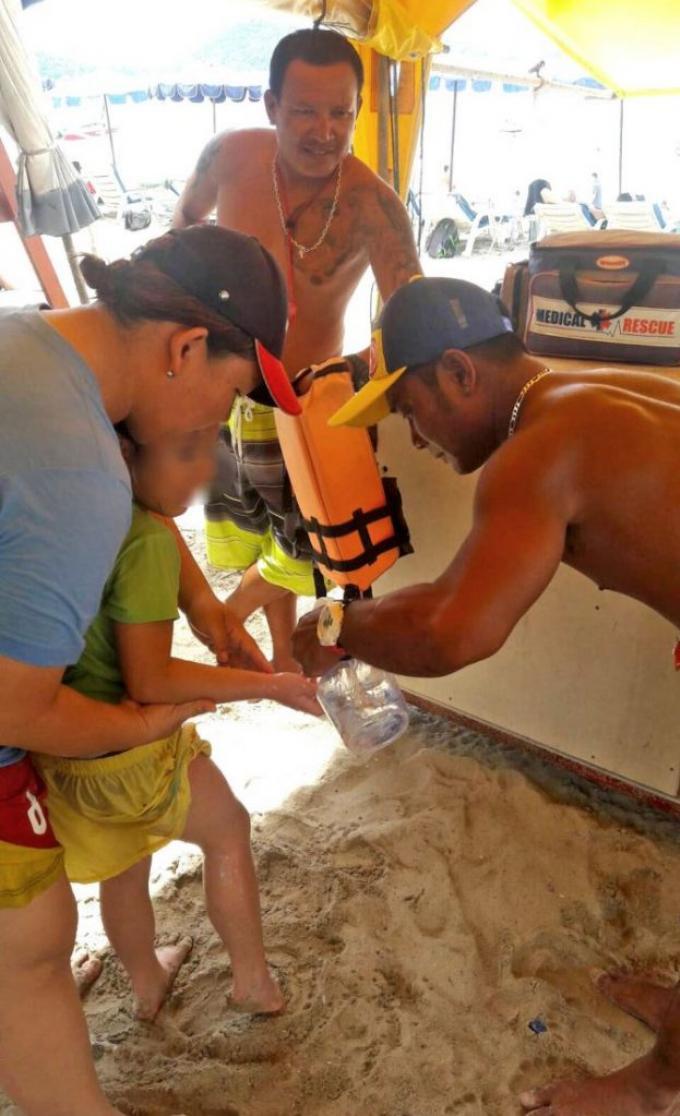 Des baigneurs piqués par des 'galères portugaises' à Patong Beach