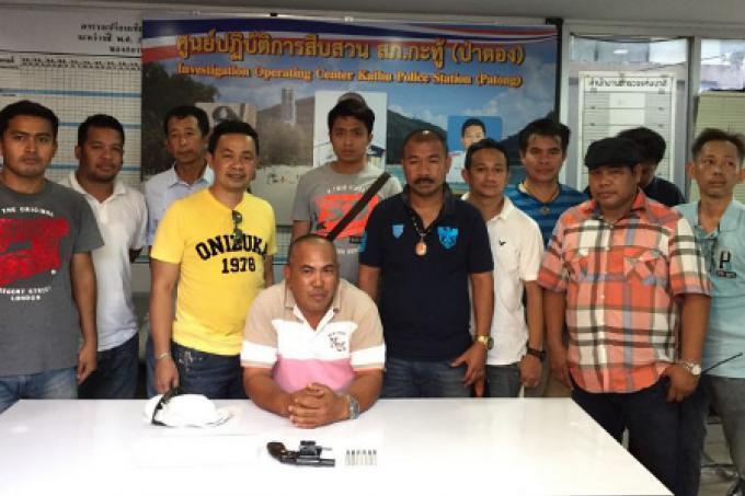 Les policiers de Patong, deuxième journée de balayage du crime de quatre jours