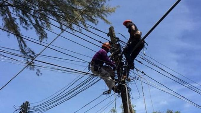 Coupure d'électricité à Phuket Town